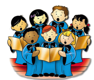 vector free Childrens choirs saint jude. Chorus clipart child african american