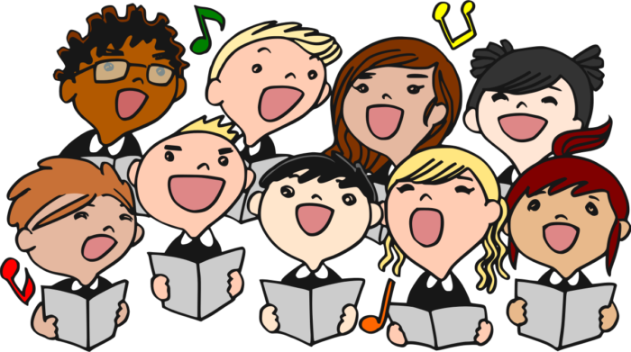 vector library library Choir clipart spring. District for th and.