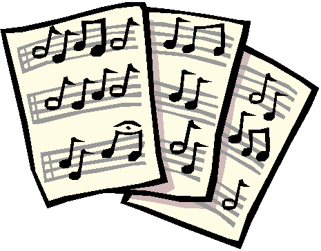 picture royalty free library Home a small number. Chorus clipart vocal music.