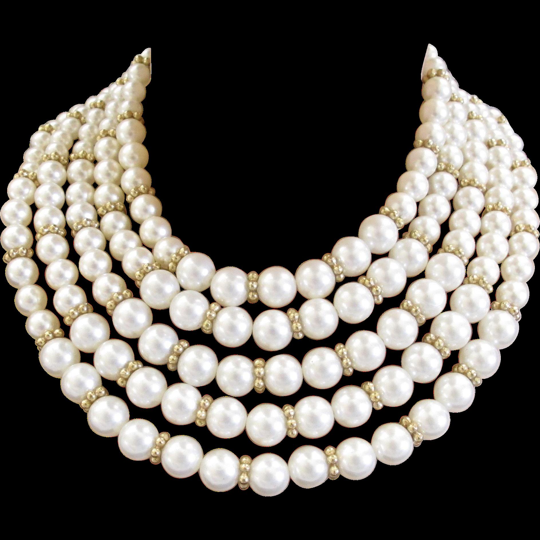 banner free download choker transparent pearl #110596474