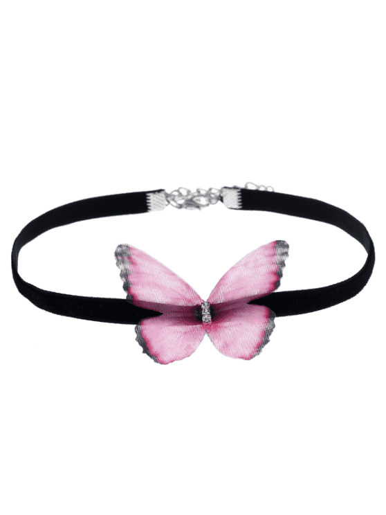 jpg black and white transparent choker pink #116657876