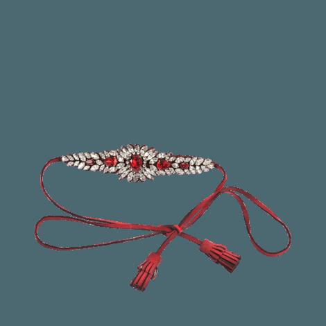 clip art freeuse library Shourouk Alcantara Countess choker Red Women