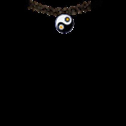 banner royalty free stock yin yang choker