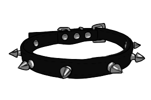 vector transparent library Spiked Collar by CecatlShop on DeviantArt
