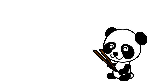 graphic transparent Chopsticks clipart cartoon. Panda clip art at.