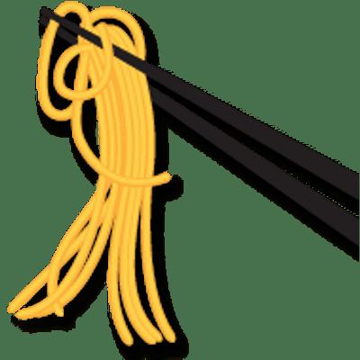 vector free download Chopstick Noodles transparent PNG