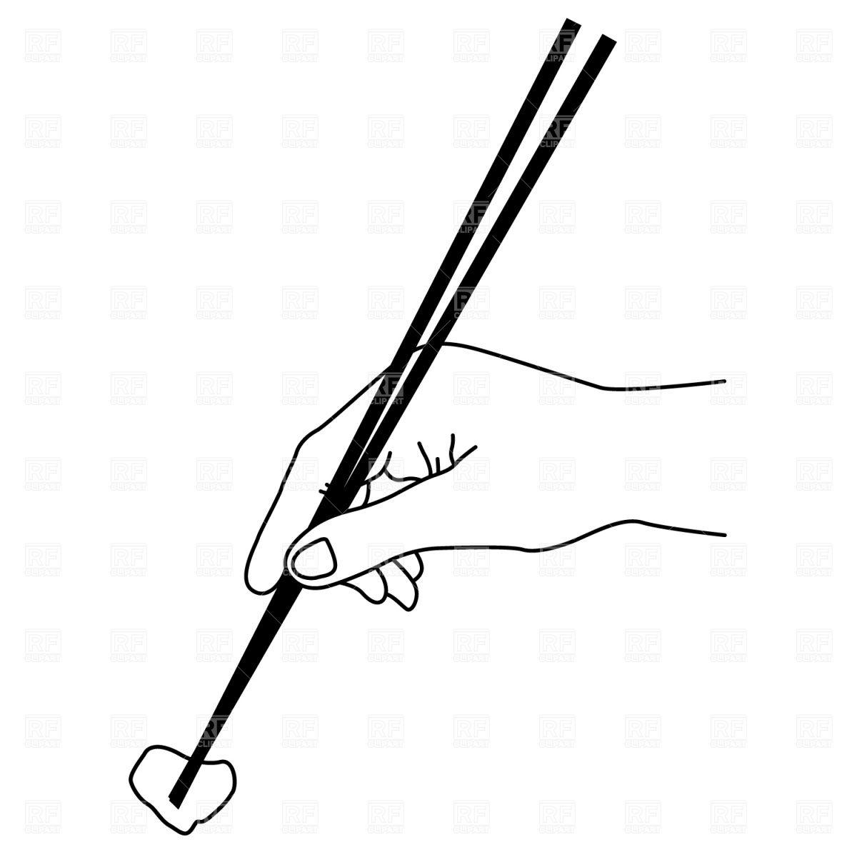 graphic Pin on fusian grandview. Chopsticks clipart drawing.