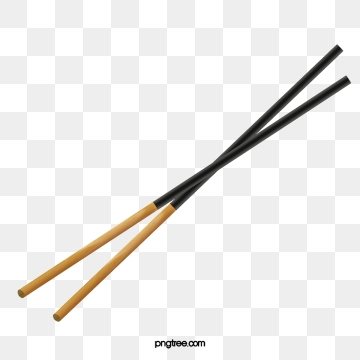 png black and white library Chopsticks clipart vector. Png psd and with.