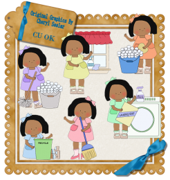 jpg free stock Housework scrapping goodies clip. Chore clipart