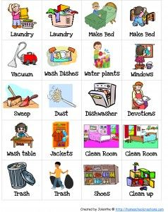 png download Chores household task . Chore clipart adverb frequency.