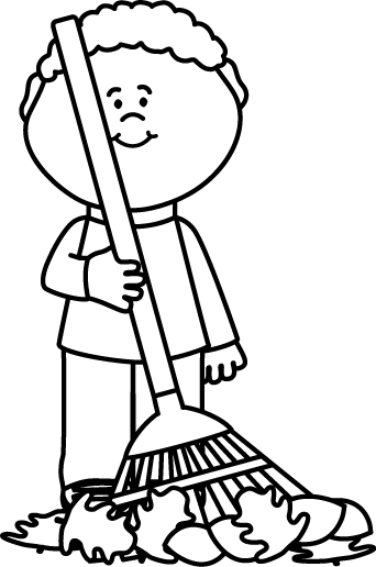 picture freeuse library Cleaning clipart black and white.  collection of chores.
