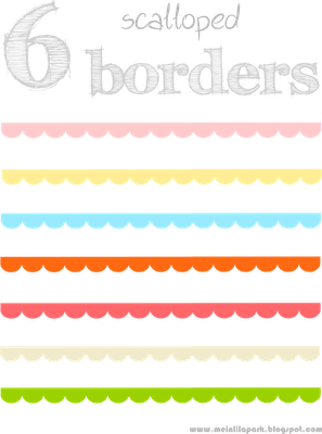 svg library library Free scalloped scrapbooking borders. Document clipart divider.