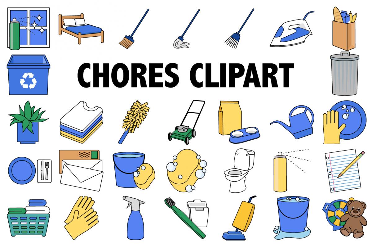 clipart . Chores clipart.