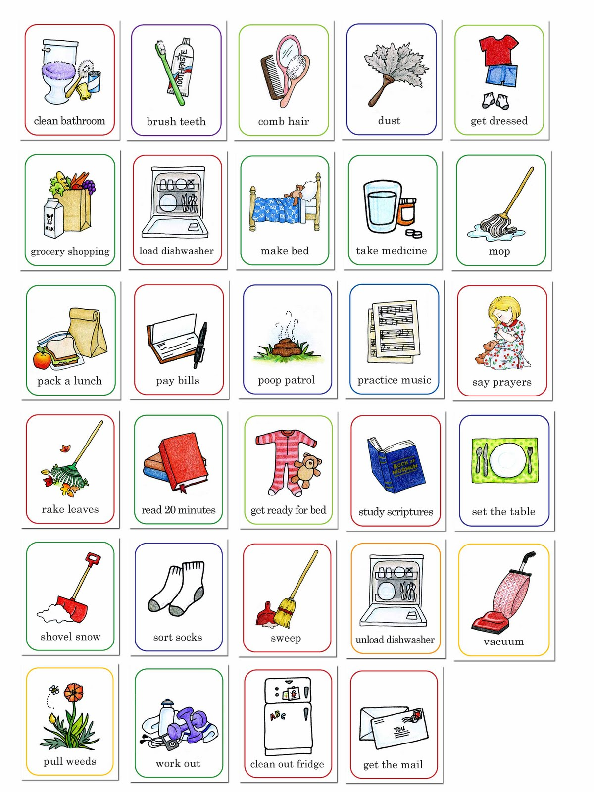 jpg library library Cliparts download clip art. Chores clipart free.