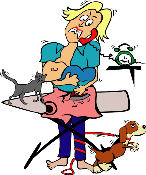 clipart free Me time why am. Chores clipart household task.