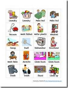 banner library library Free cliparts download clip. Chores for kids clipart