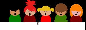 image library library Chorus clipart. Childrens choir clip art.