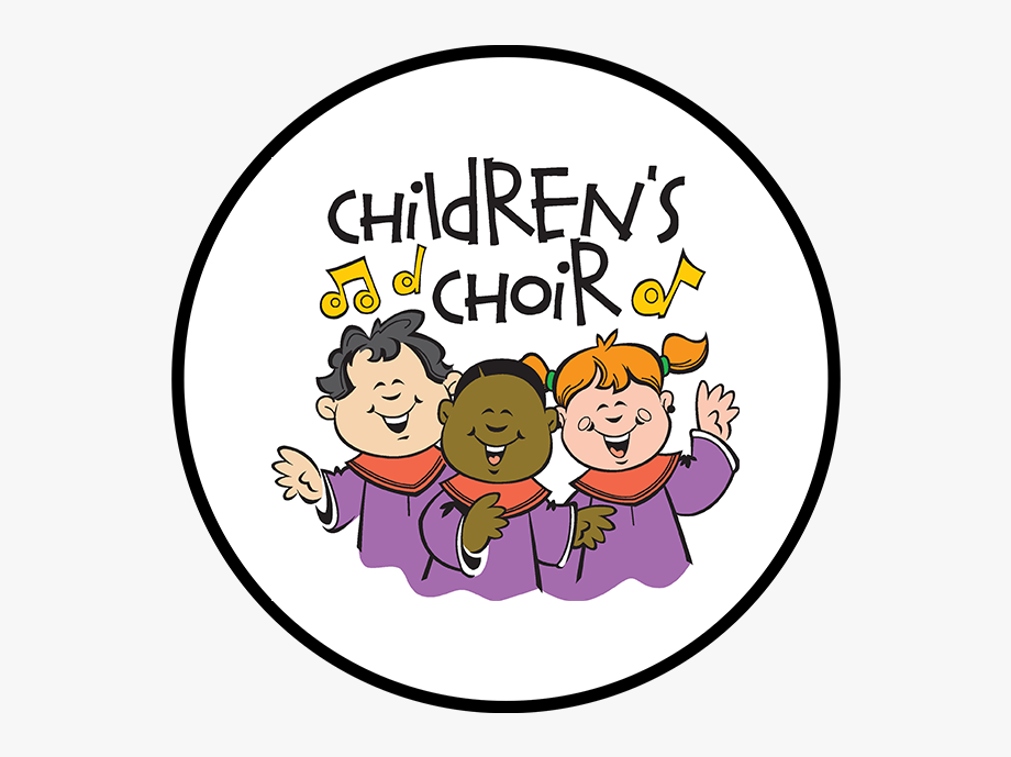 black and white Children s gospel choir. Chorus clipart child african american
