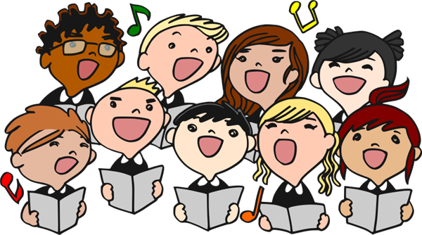 image library stock J b jb . Chorus clipart music program.