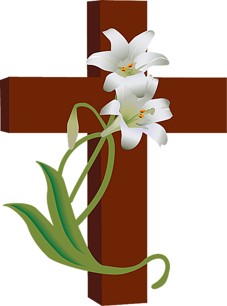 jpg black and white stock religious easter border clipart #59797408