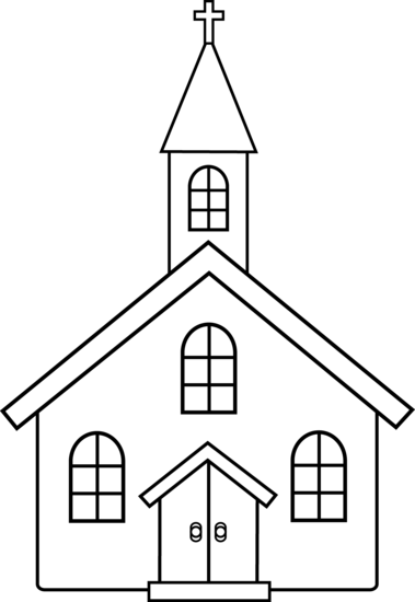 banner transparent download Clipart christian clipart image of church