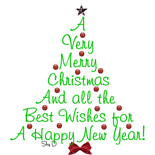 graphic free library Merry christmas and happy new year clip art satztk