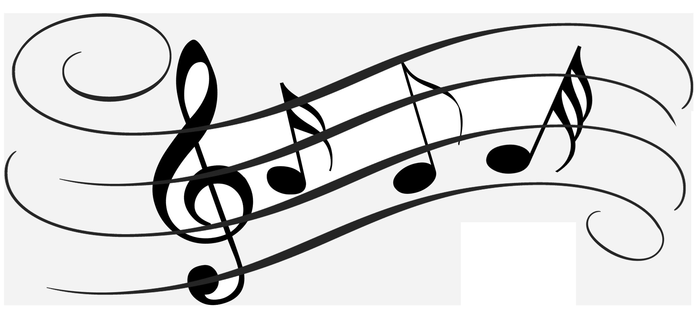 banner stock Christian Music Notes