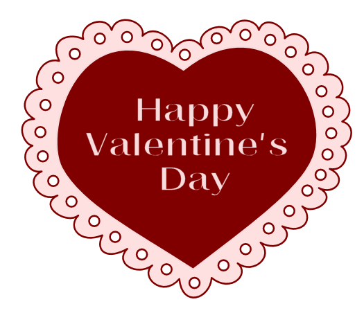 clip black and white download Lace clipart png. Valentine