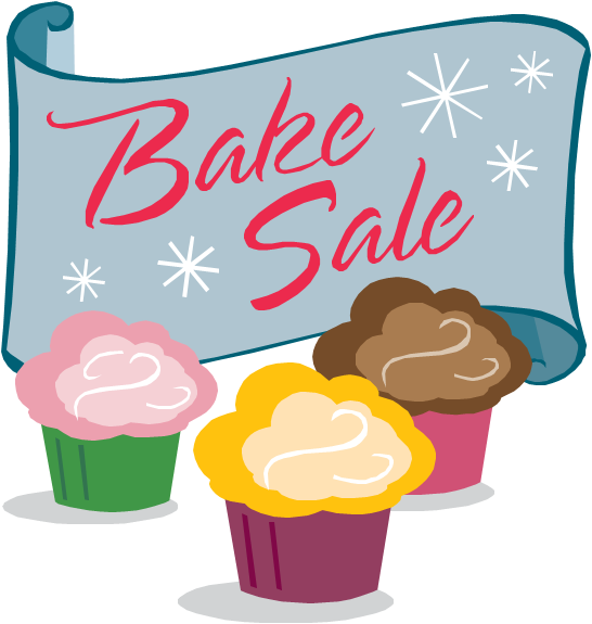 vector library library Christmas Bake Sale Clipart