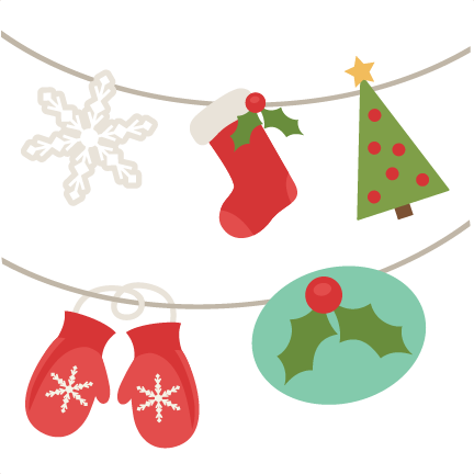 svg stock Christmas Banner SVG cutting files free svg cuts free svg files
