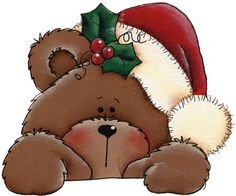 clip black and white stock Christmas bear clipart. Free cliparts download clip