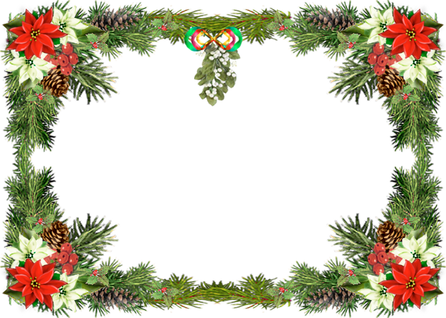 picture free library Green border tier brianhenry. Christmas borders clipart free