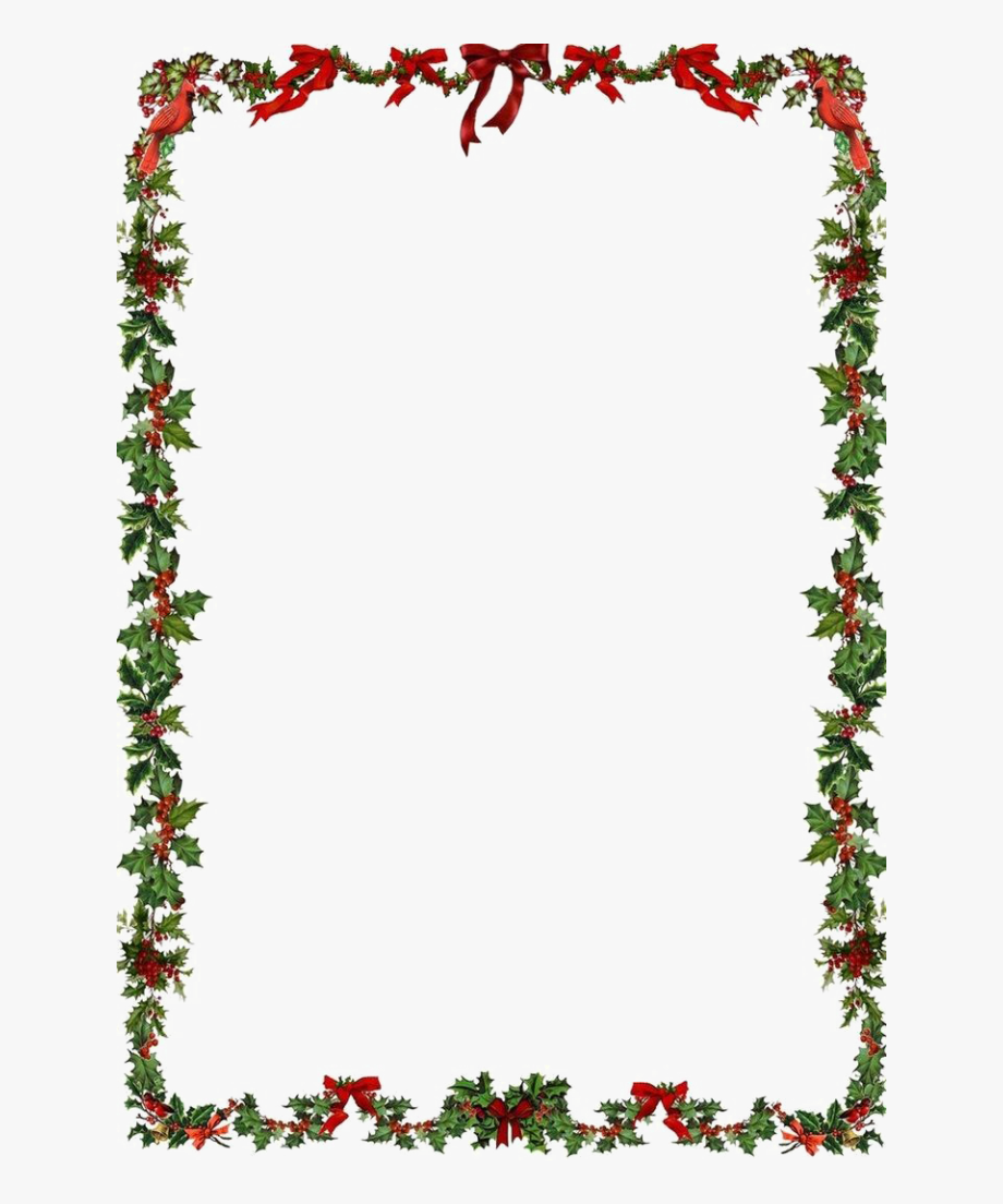 image transparent download Clipart christmas borders. Border png a free