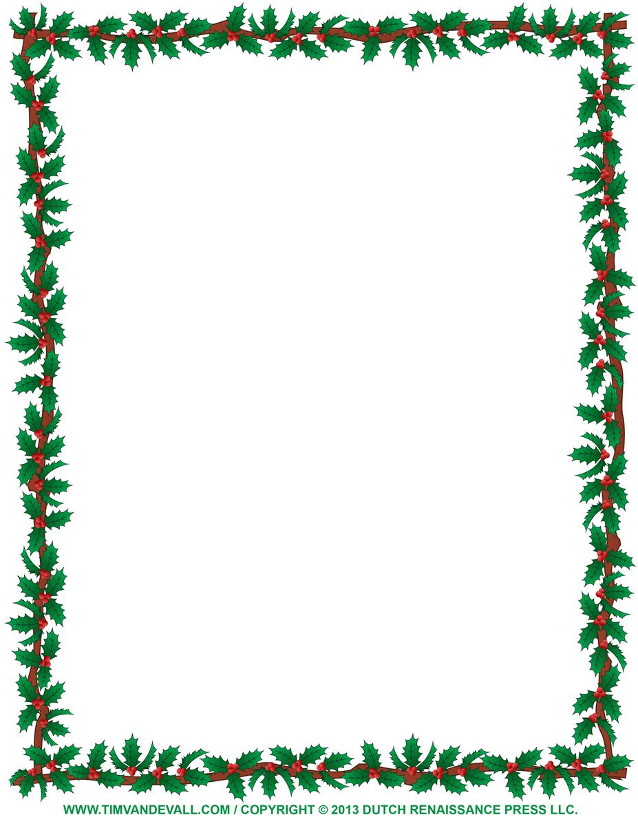 picture library stock Pin by barb polenski. Christmas clipart page borders.