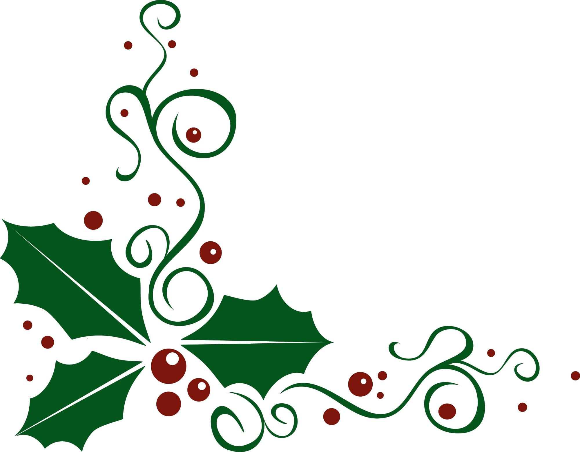 picture transparent Christmas clipart corner borders. Free cliparts download clip