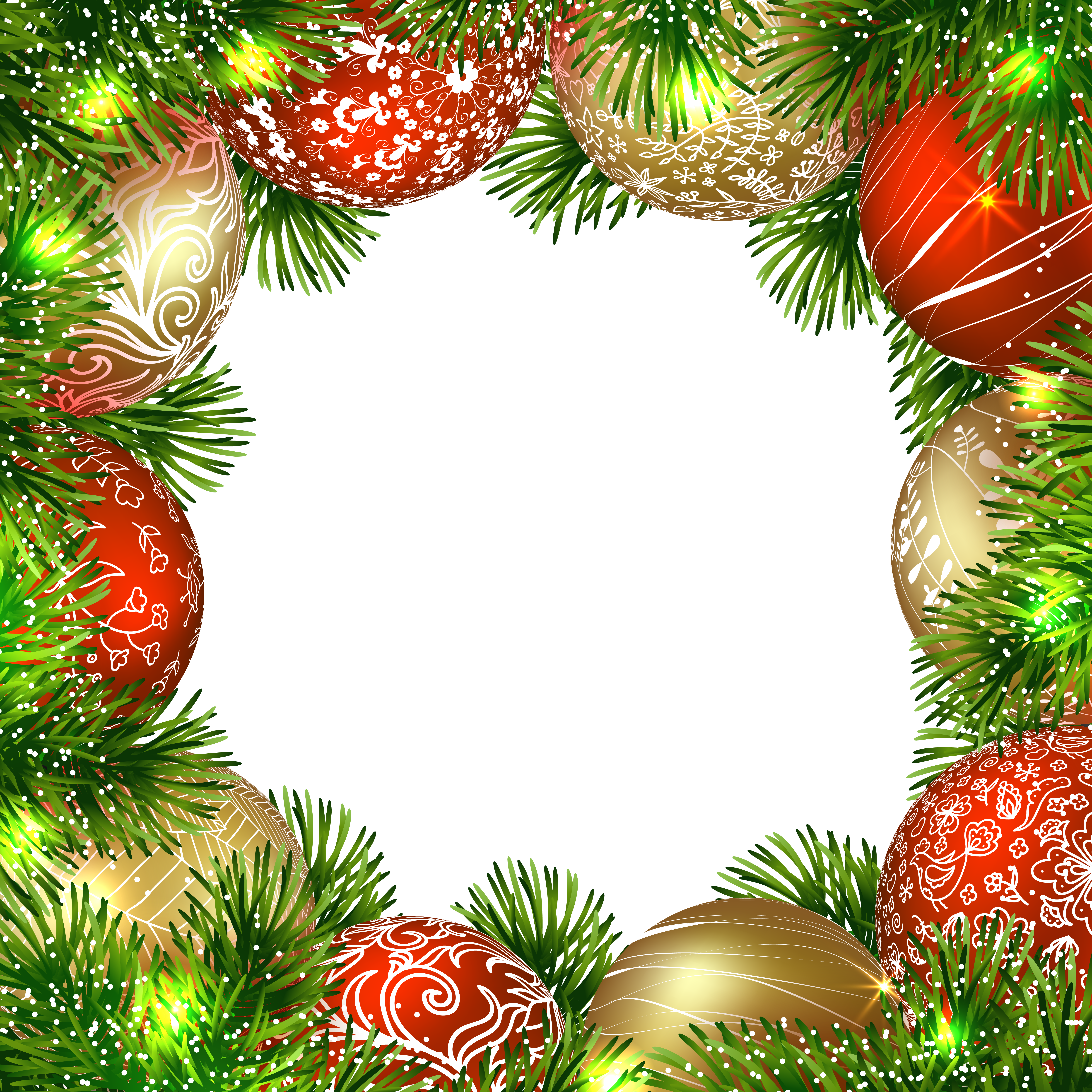 vector library download Transparent png border frame. Clipart christmas borders and frames