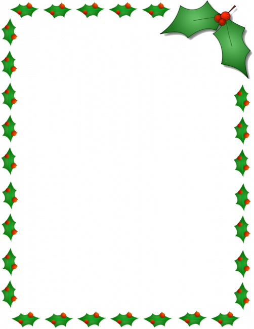 svg free download Christmas borders clipart free. Nice coloring pages for