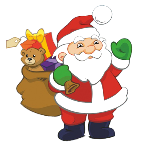 picture library library Funny and free santa. Christmas clipart