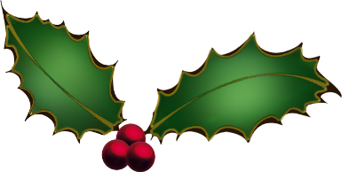 free library Free clip art holly. Christmas clipart