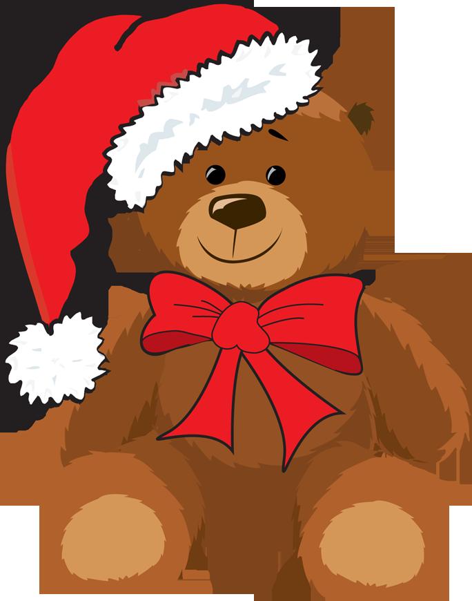 clipart transparent download Teddy bears . Christmas clipart bear.