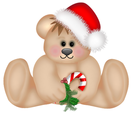 svg black and white library Png cute teddy gallery. Christmas clipart bear.