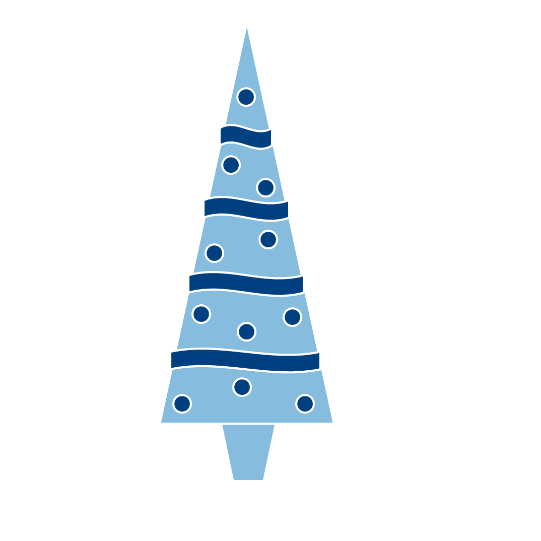 graphic library stock Blue Christmas Bells Clipart