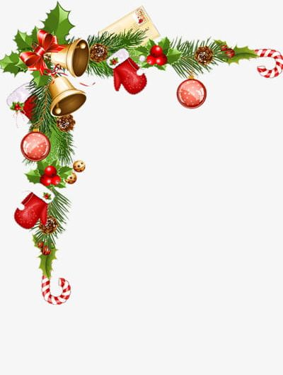 clip free Christmas clipart borders. Download for free png.