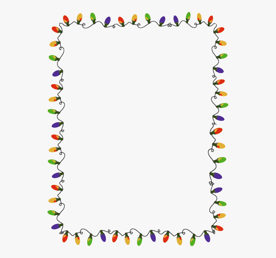 clipart free library Page light border . Christmas clipart borders free