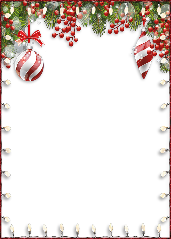image black and white R wbaubles fecnikek png. Christmas clipart page borders.