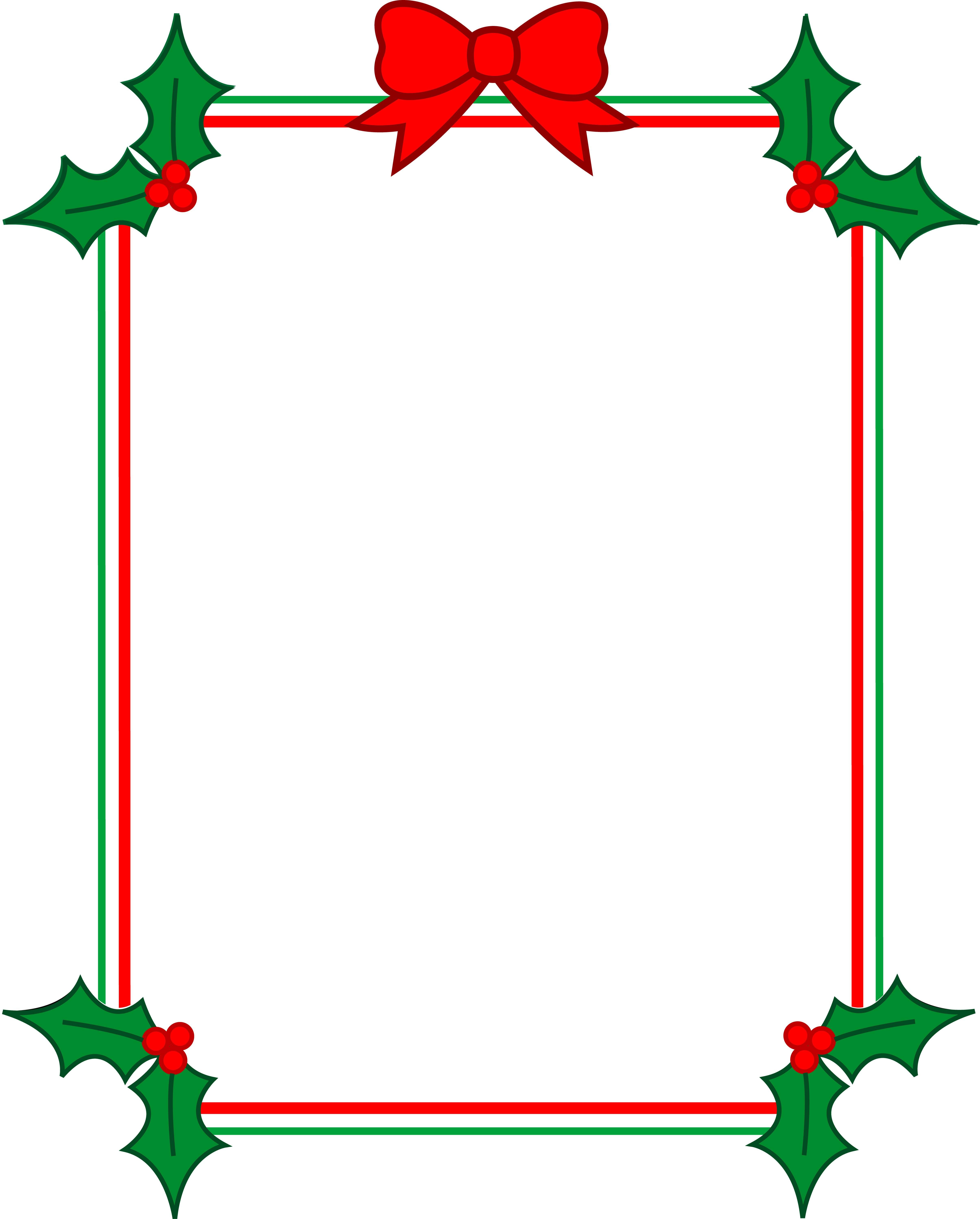 image freeuse download Christmas clipart page borders. For microsoft word library.