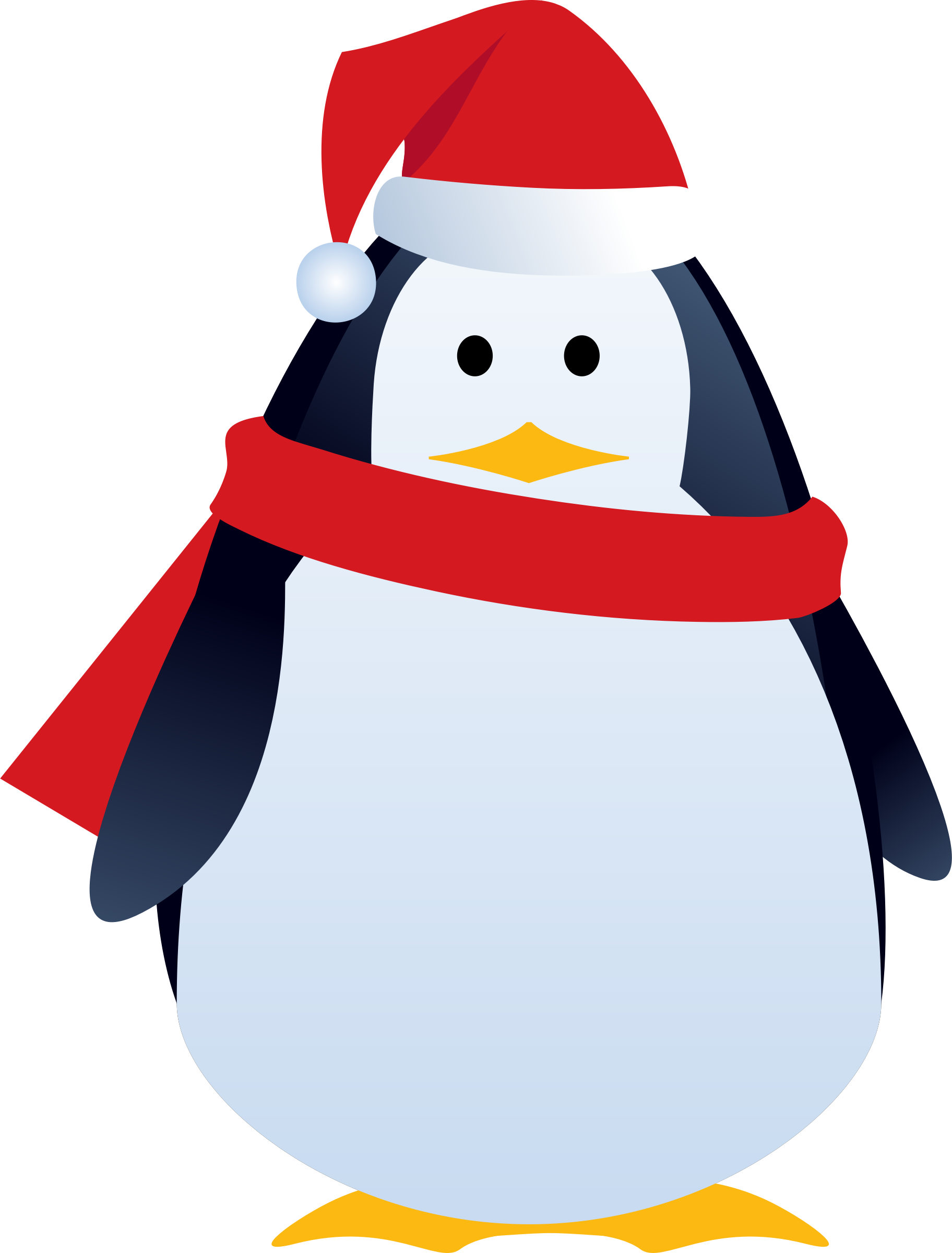 clip stock Christmas clipart penguin. Big image png