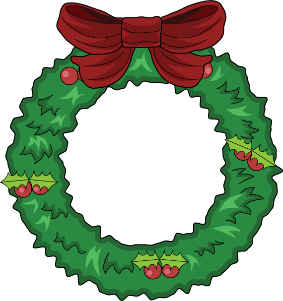 png free download Free Christmas Wreaths Clipart