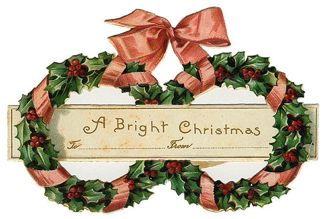 banner library Christmas clipart victorian. Holiday archives page of.
