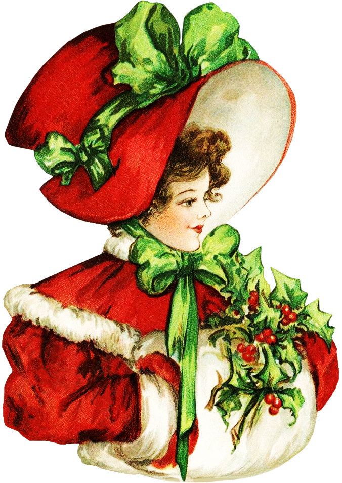 svg Christmas clipart victorian. Beauty .